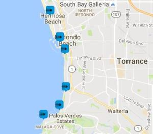 Nearby Coastal Cleanup sites